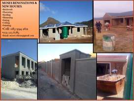 Moses' Renovations and New houses