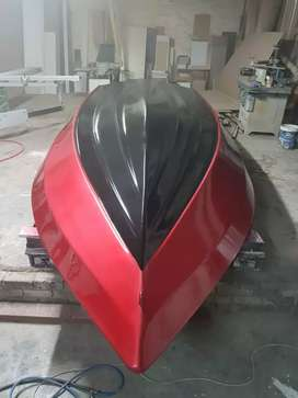 Bass boat hull in good condition