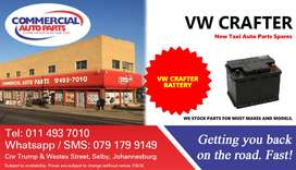 Battery For VW Crafter For Sale.