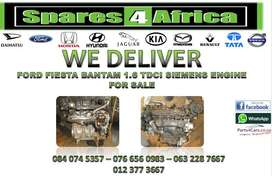 FORD FIESTA BANTAM 1.6 TDCI SIEMENS ENGINE FOR SALE