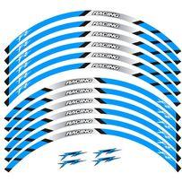 Светоотражающие полосы на диски Yamaha FZ FAZER