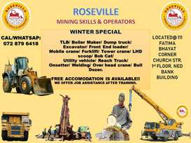 Roseville mining skills and machine operators