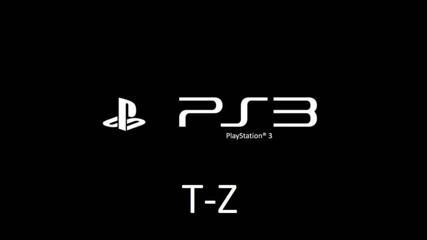 PlayStation 3 Games for Sale T-Z 0