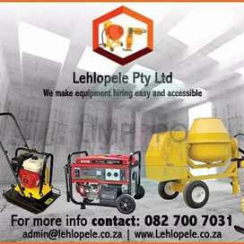 Construction tools for hire