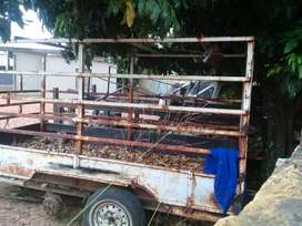 Double Axle I am aCattle trailer for sale