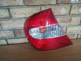 Toyota Camry Left Rear Taillight