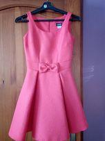 Sukienka malinowa rozm. 36