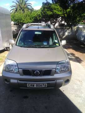 2,5 nissan xtrail 4by4 suv 2006, sunroof,