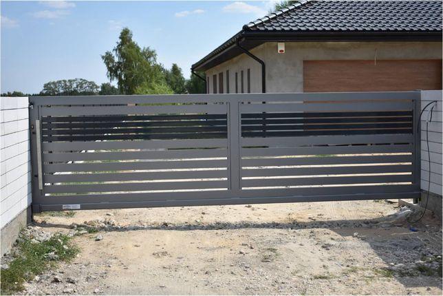 Ogrodzenia panelowe + podmurówka + montaż. 51 drutów pionowych. Błonie - image 6