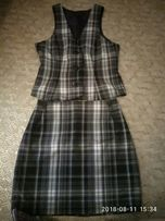 костюм, юбка, блуза, футболка,юбка, лосины