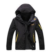 Зимняя куртка Jack Wolfskin 2 в 1 ветровка + флисовая куртка Джек