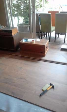 Fit of laminated floors