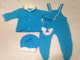 Детский костюм, комплект, боди, кофточка