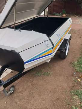 Tortion 6foot trailer with nose cone