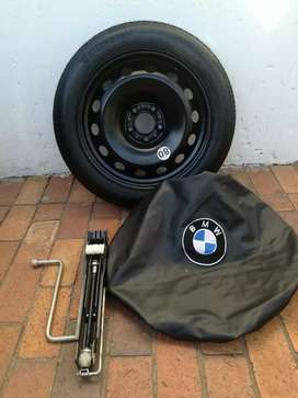 BMW X4 F26 18 inch Brand New Space Saving Spare Wheel kit Cover Tools