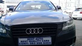 2010 Audi A-4 1.8 Engine Capacity with Automatic Transmission,