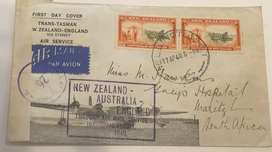 New Zealand 1940 Inaugural Flying Boat Cover
