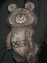Продам настенного олимпийского деревянного мишку