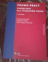 Prawo pracy podręcznik Jackowiak 4 wydanie Lex Wolters NOWA