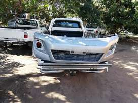 Toyota Hilux GD6 Bonnet and bumper