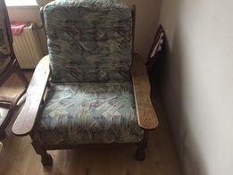 Piękny Dębowy fotel!!!
