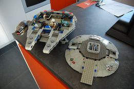 lego star wars 7190 sokół milenium unikat 2000 rok