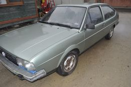 vw passat 32b coupe 3 drzwi 1982 rok rarytas