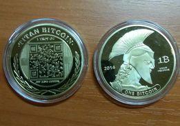 Монета Биткоин Титан