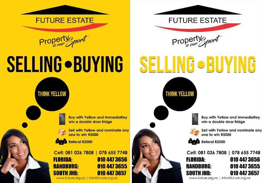 Are YOU THINKING OF BUYING/SELLING YOUR PROPERTY? 0