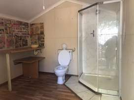 Wendy house with bathroom