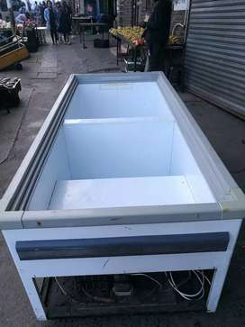2metre by 1metre DEEP FREEZER WITH SLIDING  TOP GLASS
