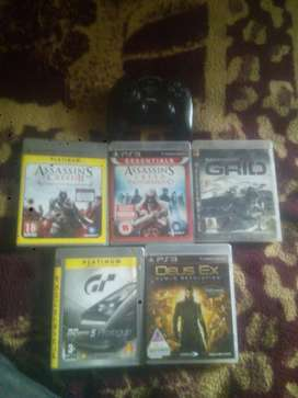 Ps 3 Games + Controller For sale