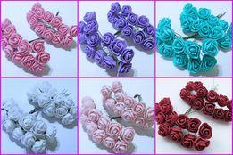 Розы из фома букет из 12 шт