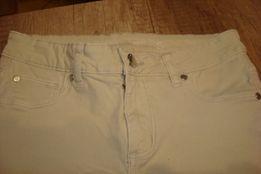 Spodnie Cubus jeans kremowe r. S, jak nowe