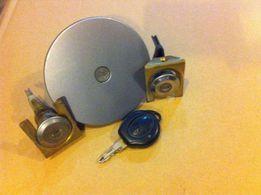 Крышка бака Пежо 206 замки личинки дверей оригинал с ключом