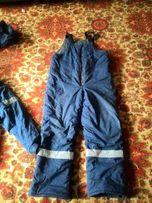Зимняя спецодежда (комбинезон и куртки)
