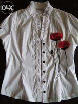 белая блузка можно в школу