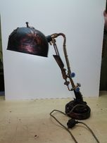 Лампа настольная стимпанк