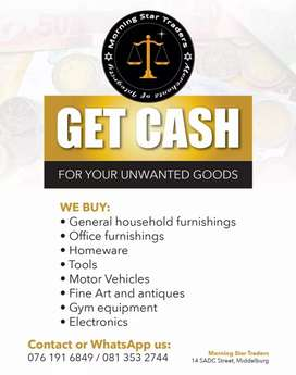Need cash? Give us a call