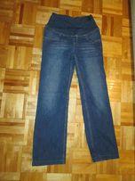 Spodnie Ciążowe dżinsowe jeans rozmiar S