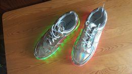 Кроссовки, LED, светодиодные, ЛЕД-кроссовки. Размер 36
