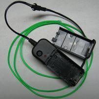 EL-wire (может называться: светящийся шнур, люминесцентная подсветка)
