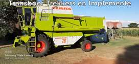Claas 76 Dominator Stroper