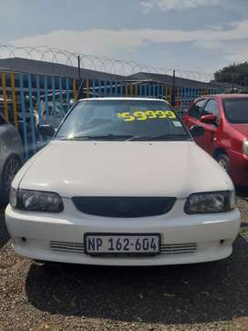 Immaculate Condition! Toyota Tazz 2002 R59 999