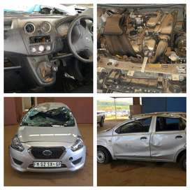 DATSUN GO STRIPPING FOR CAR SPARE PARTS
