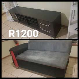 Tv stand n 1 bachelors couch