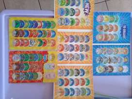 Tazos collections