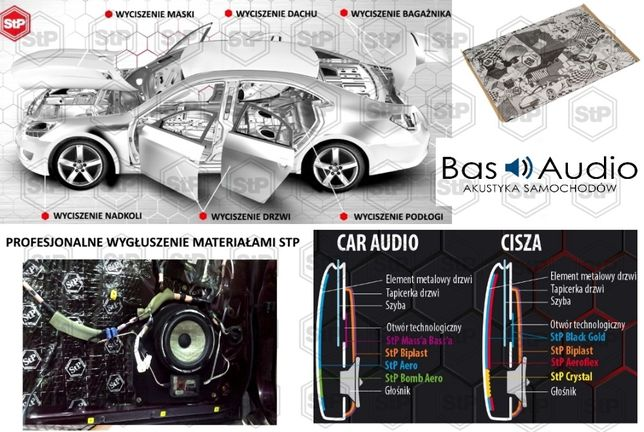 Wytłumienie ,maty STP GB 1,5mm, 2.0mm Wyciszenie samochodu, Bas Audio Skrzyszów - image 3