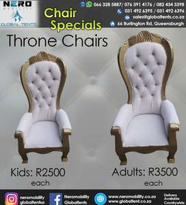 Chairs-Throne Chairs