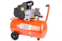 Компрессор с ресивером LEX LXC50 компресор, 50 литров, Гарантия 1 год
